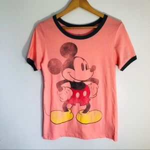 Disney soft Mickey Mouse graphic T short sleeve